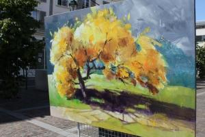 Marché des peintres et des sculpteurs de Rueil-Malmaison le 14 mai 2017