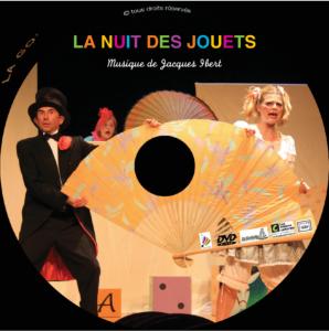 Rondelle DVD La Nuit des Jouets