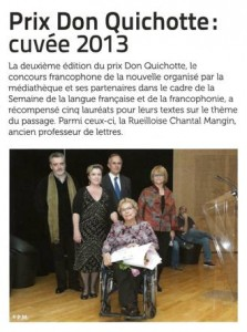 Prix Don Quichotte 2013